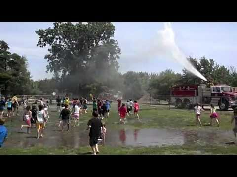 Video#3 Kids playing in the water at Bentley Primary School May 22, 2012