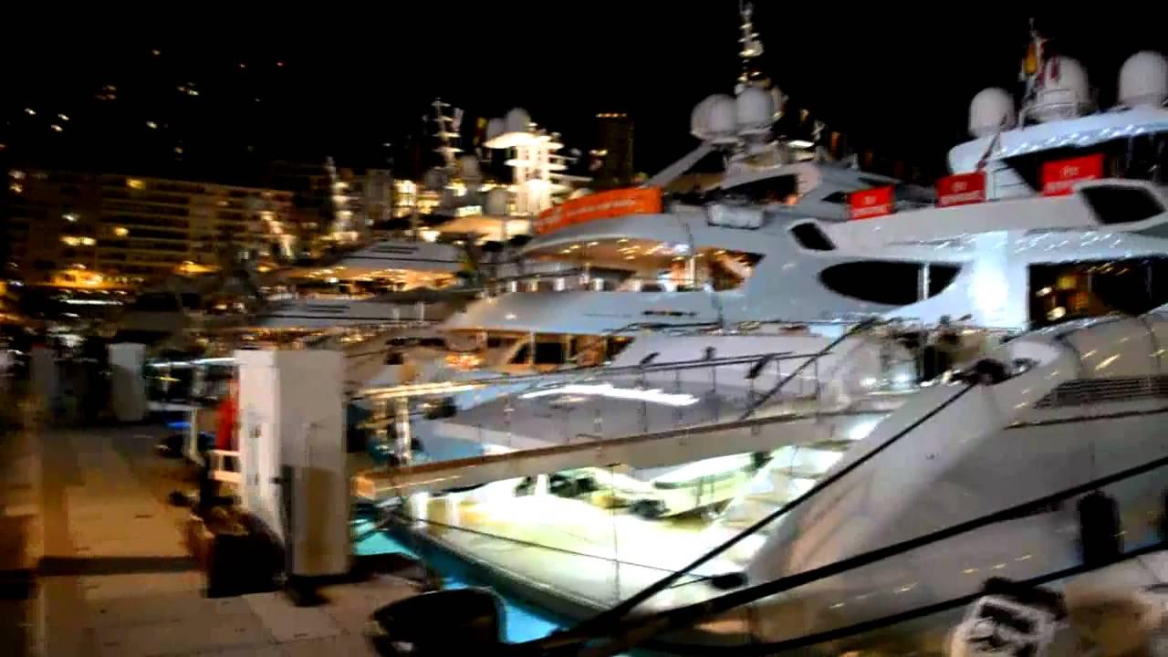 Monaco Grand Prix 2011 Night Parties Kim Schmitz Cars