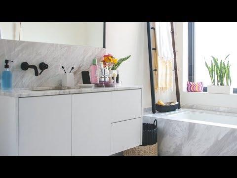 Fresh DIY Bathroom Decorating Makeover