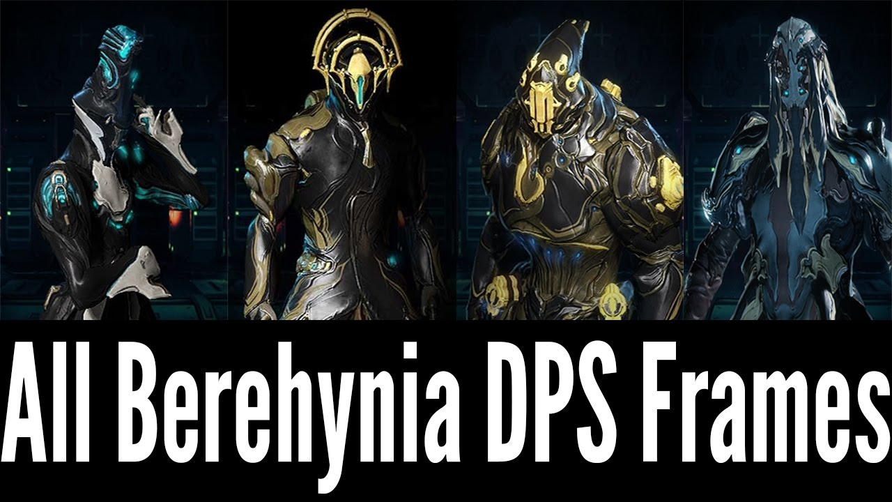 All Viable DPS Frames for Berehynia (Warframe)