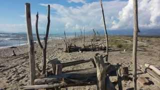 La spiaggia più bella della Versilia - La Lecciona