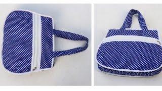 नए डिज़ाइन का बैग बनाना सीखें // Bag // New Designer bag //Bag banana // Bag banane Ka tarika