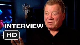 Escape from Planet Earth Interview - William Shatner (2013) - Animated Movie HD