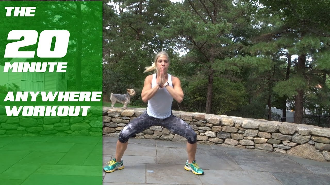The 20 Minute Anywhere Workout | Kris Shanahan | #POSITIVFIT