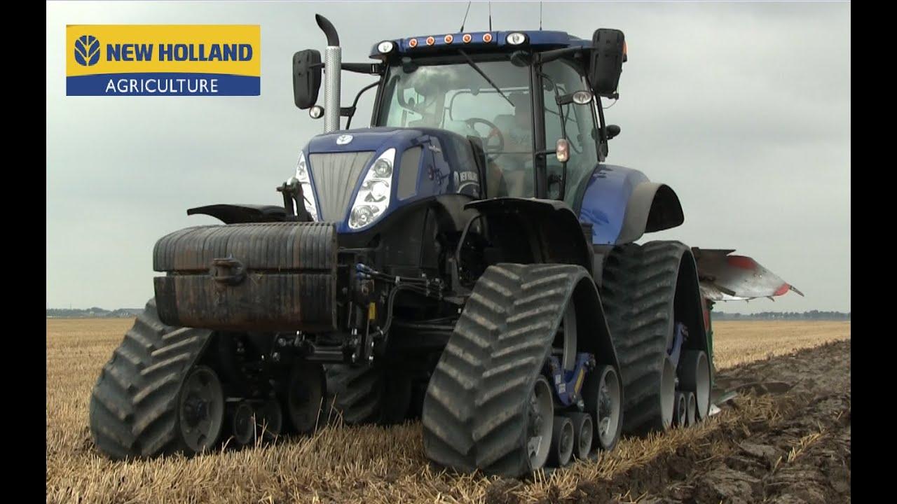 Akkerb N Rulo Midwolda New Holland T7 270 Bluepower