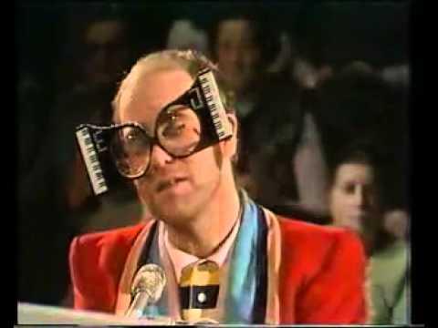 Elton John Weird Glasses 6