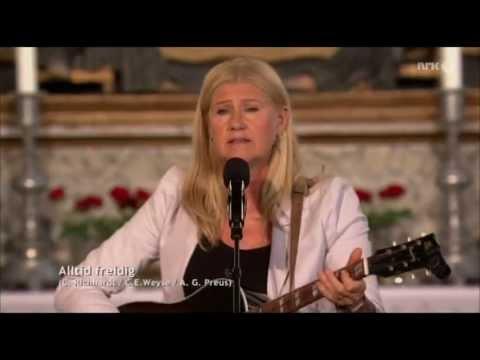 Anne Grete Preus - Alltid freidig (Minnegudstjeneste i Oslo domkirke, 22.7.2013)