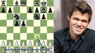 El Mayor Troleo de Magnus Carlsen No Desarrolla sus Piezas