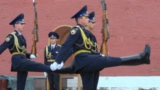 クレムリン 衛兵交代 Кремль Kremlin Changing the Guard ceremony