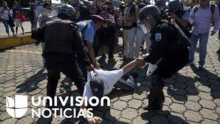 Varios detenidos en nuevos enfrentamientos entre manifestantes y la policía de Nicaragua