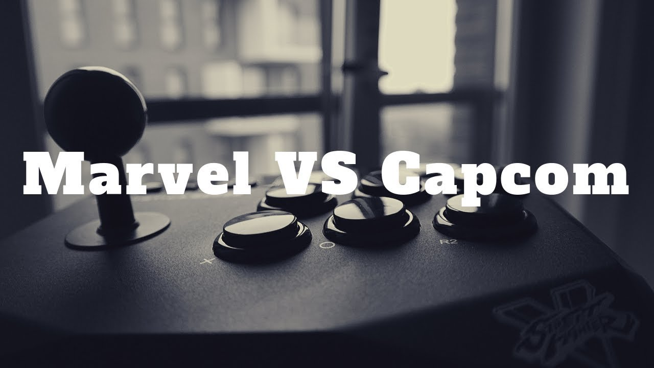 Playing Marvel VS Capcom