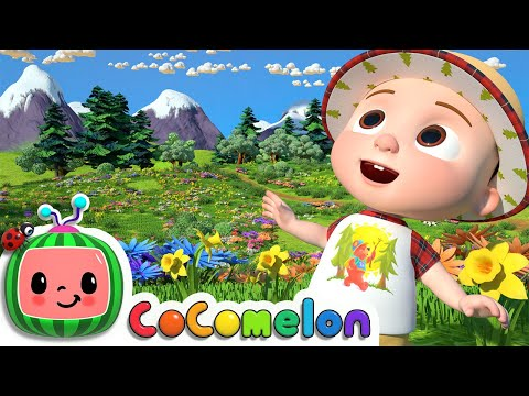 I Love the Mountains | CoComelon Nursery Rhymes & Kids Songs - Видео онлайн