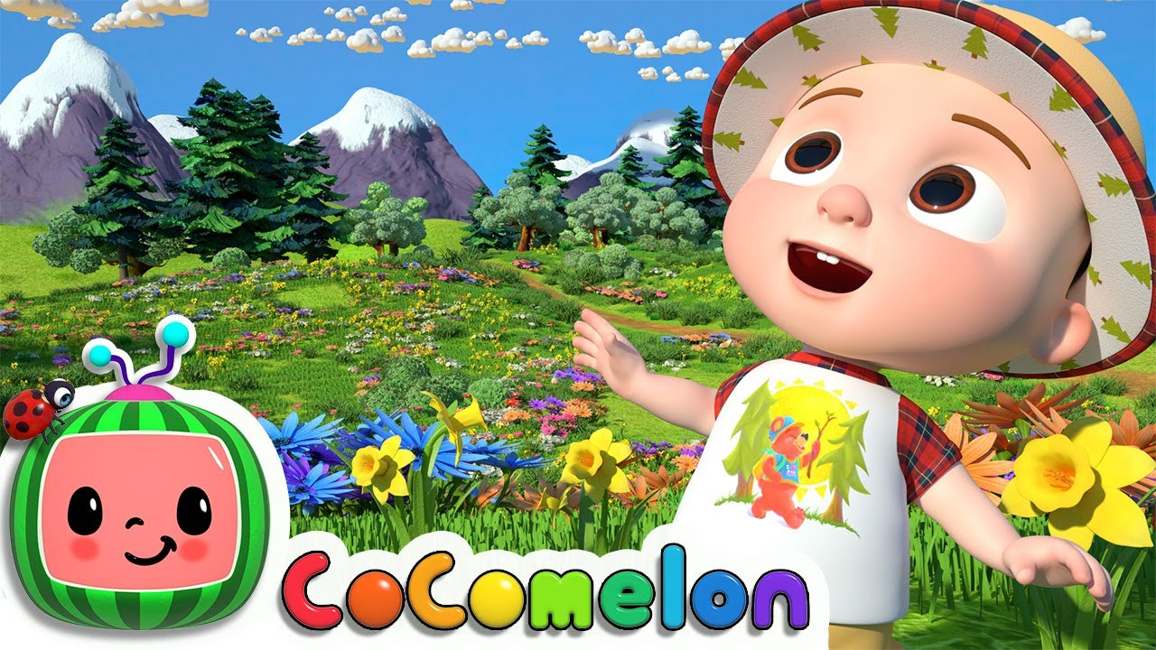 I Love the Mountains   CoComelon Nursery Rhymes & Kids Songs