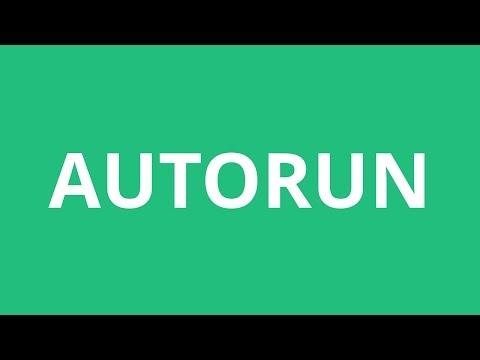 How To Pronounce Autorun - Pronunciation Academy