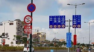 dai lo pham van dong tp hcm cho xe may vao lan o to sang tu 6h-8h chieu tu 16h-18h30 4k