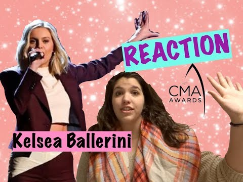 Kelsea Ballerini- Miss Me More CMA Performance *REACTION*