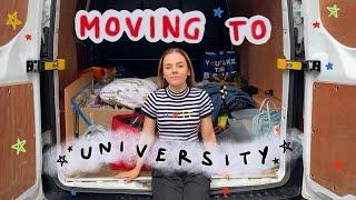 Moving to University! // university move in day vlog uk
