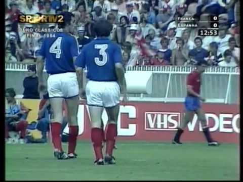 Франция испания 1984 футбол