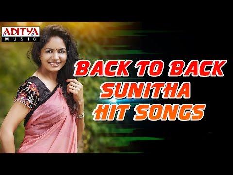Back To Back Sunitha Hits  ♫  Telugu Songs Jukebox