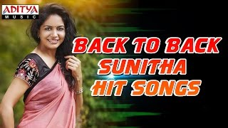 Back to back sunitha hits  ♫  telugu songs jukebox