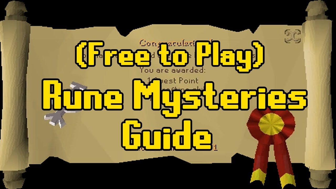 Runescape 2007 quest guides: rune mysteries youtube.