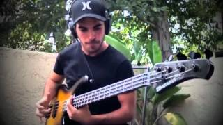 miki santamaria - extreme slap bass solo - with tabs!