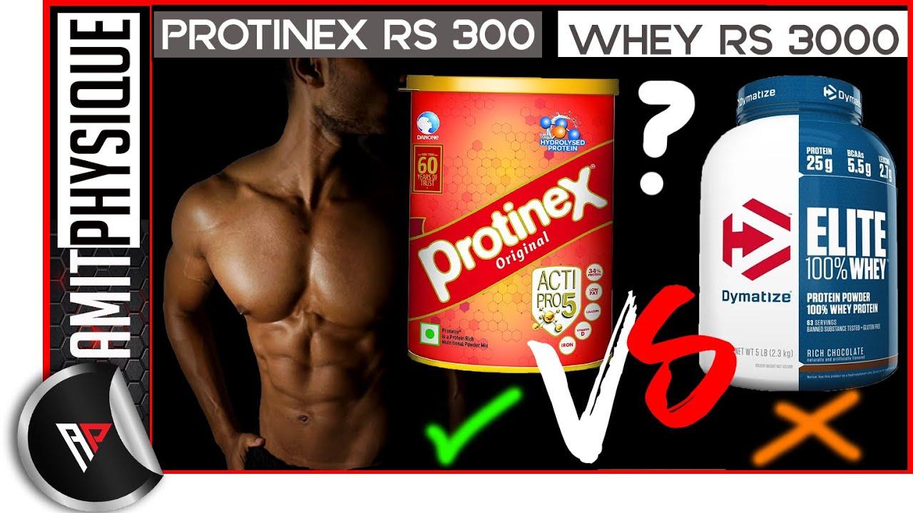 Protinex Rs 300 Vs Whey Protein Rs 3000 SHOCKING REVIEW   प्रोटीनक्स या व्हे प्रोटीन कौनसा बेस्ट्