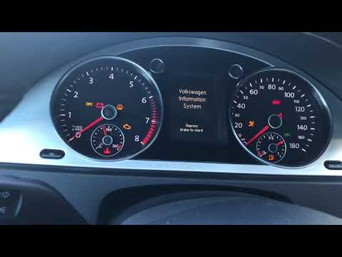 2010 VW CC parking brake error