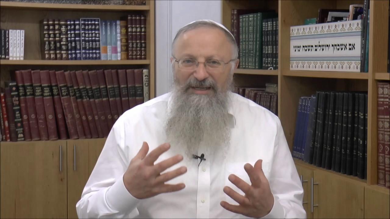 שמחה אצל גדולי ישראל | הרב שמואל אליהו