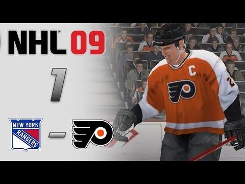 NHL 09 [КАРЬЕРА] #1| СУМАСШЕДШИЙ МАТЧ