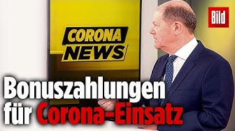 Bundesfinanzminister denkt über Steuerbonus für Corona-Helden nach