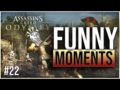 ASSASSINS CREED ODYSSEY - funny twitch moments ep. 22 thumbnail