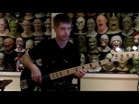 Everyday I Write The Book Bass Cover music