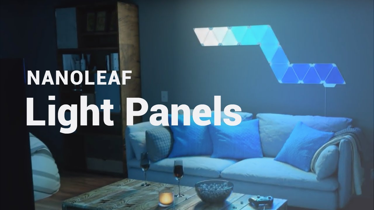 cheap for discount 5ede1 0e485 Nanoleaf Light Panels: Modular Smart Lighting Triangles