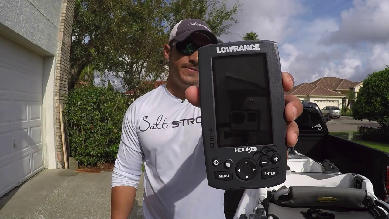 How To Install A Fish Finder In A Kayak