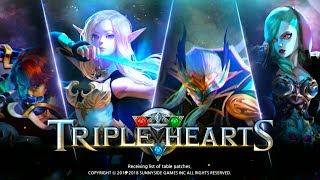 Triple Hearts - RTS Android/iOS Gameplay ᴴᴰ
