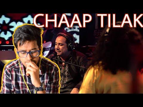 Indian Reacts To :- CHAAP TILAK / Abida Parveen & Rahat Fateh Ali Khan, Coke Studio Season 7