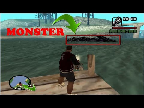 Gta San Andreas Best Cleo Mods Pc - Water Monster Mod