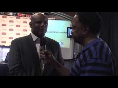 Warren Moon Interview live from Las Vegas