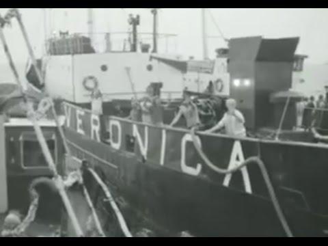 Laatste uitzending piratenzender Veronica (1974)