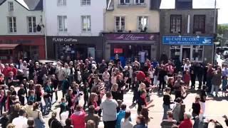 flashmob aagir les pieux