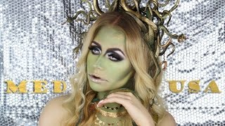 Medusa Makeup Tutorial + Snake Headpiece | TheBeautyVault