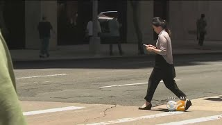 Staring At Phone While Crossing A Street In Montclair Now Carries A Hefty Fine
