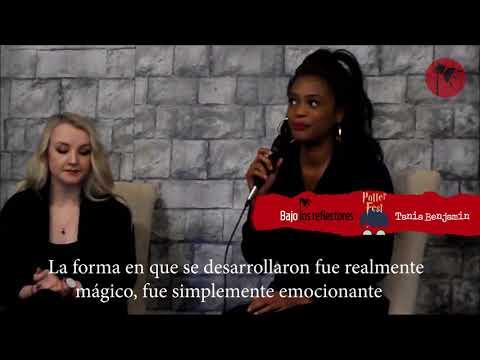 Evanna Lynch y Tania Benjamin en Monterrey