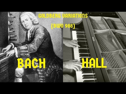 """J.S. BACH: """"Goldberg Variations"""" (complete) 