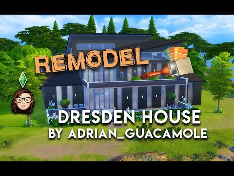MASSIVE 8 HOUR REMODEL - Dresden House - The Sims 4