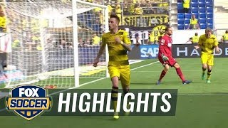Hoffenheim vs. Dortmund | Bundesliga Highlights | FOX SOCCER