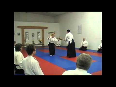 Patricia Hendricks Sensei at Takemusu Aikido New Mexico - Santa Fe, NM - May 2012.