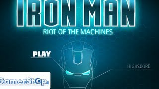 Iron Man Riot Of The Machines Level1-5   Walkthrough