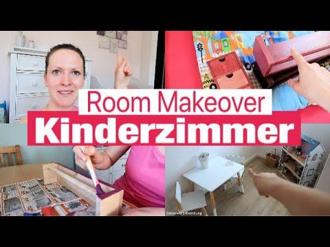 Kinderzimmer gestalten & dekorieren | Room Makeover | Bastel- & Leseecke einrichten